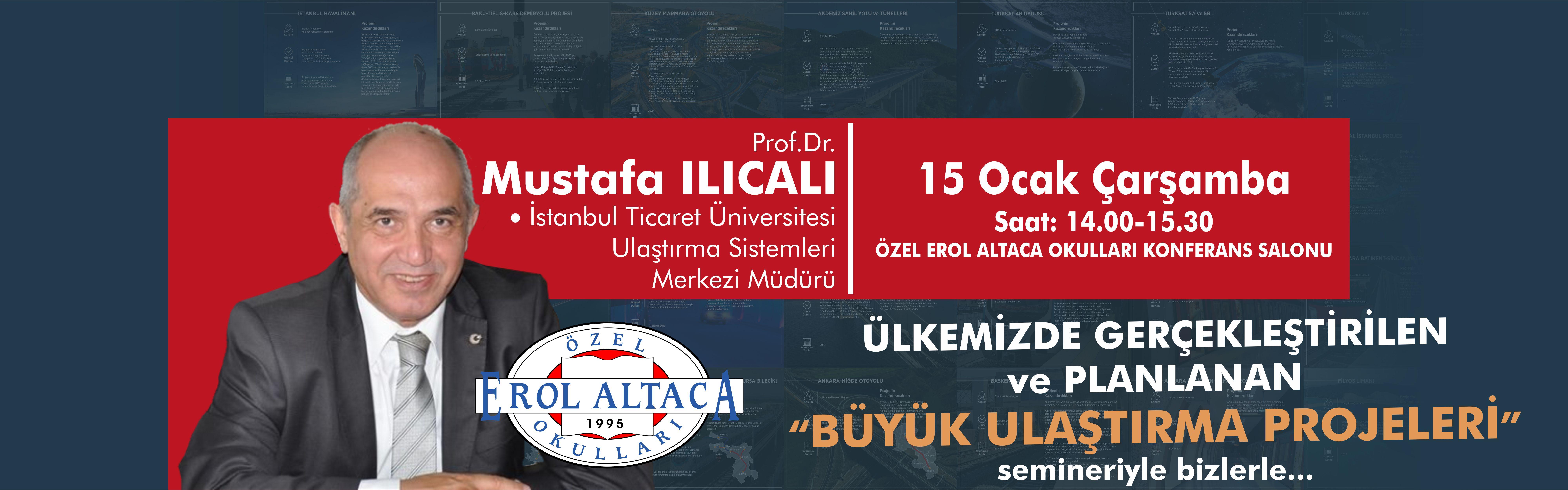 Prof. Dr. Mustafa Ilıcalı bizlerle...