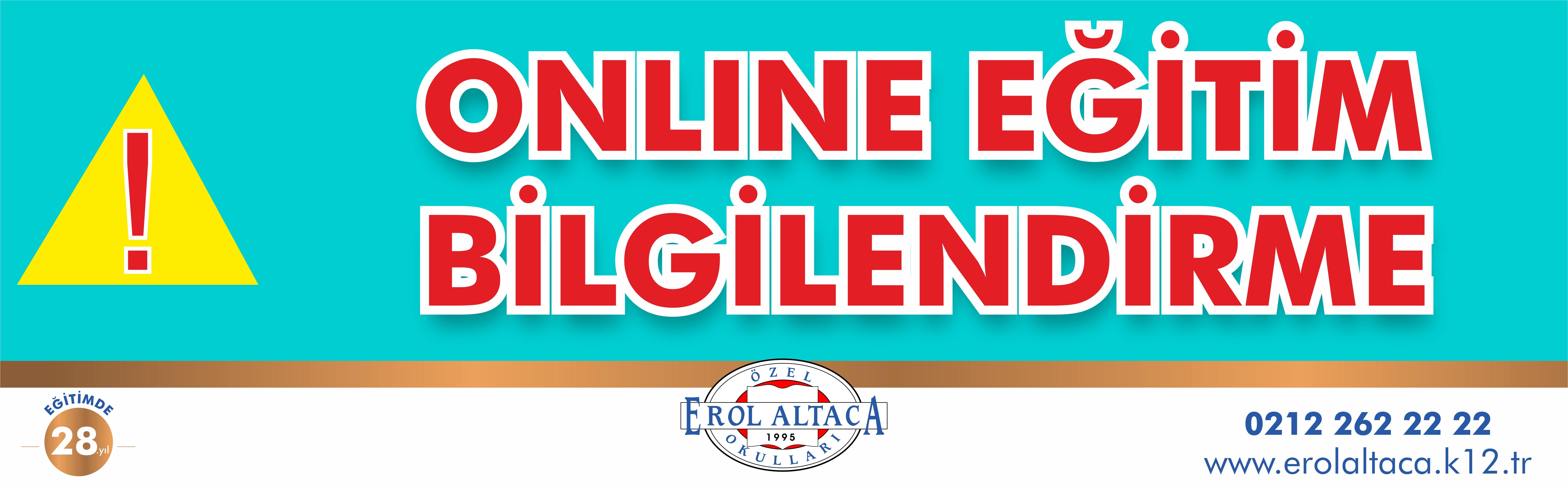 Online Eğitim Bilgilendirme