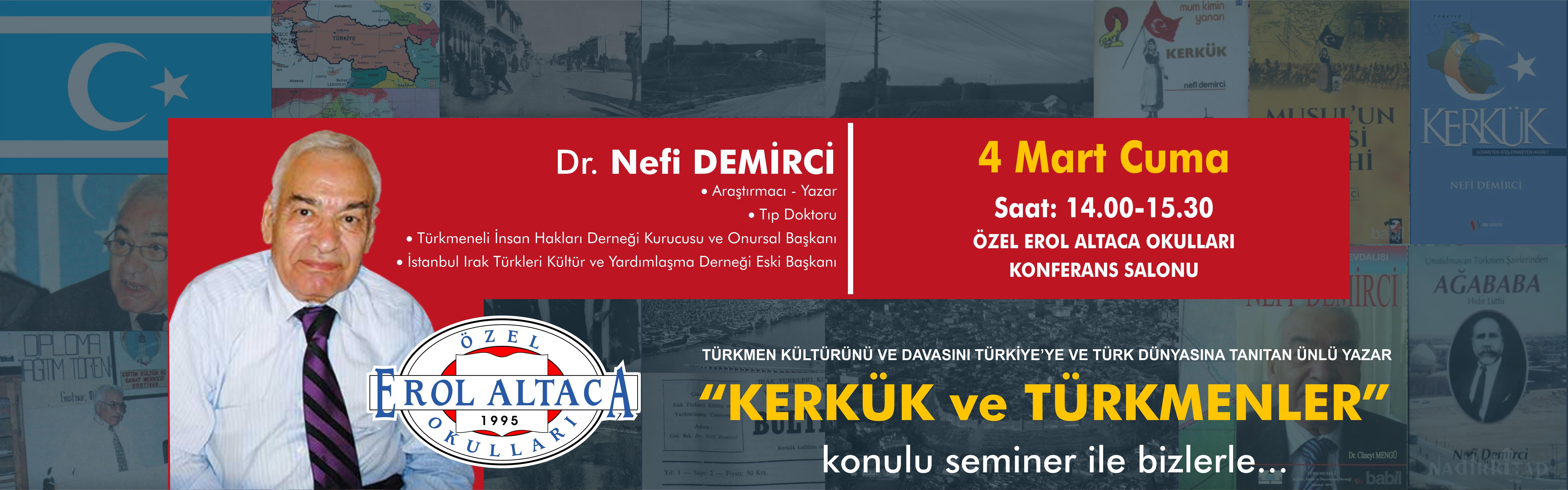 Dr.Nefi DEMİRCİ bizlerle...
